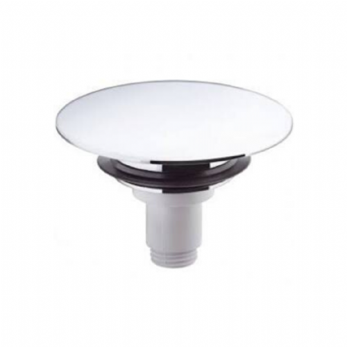 Hansgrohe Push Open Basin Plug In Steel - Model Number 97204800